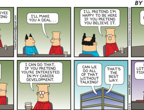Dilbert on how NOT to do Employee Engagement